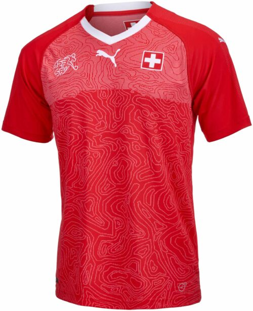 Puma Switzerland Home Jersey 2017-18