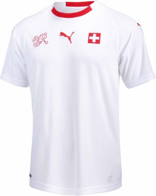 Puma Switzerland Away Jersey 2017-18