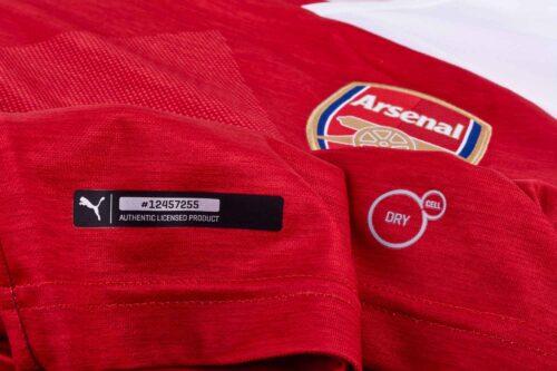 2018/19 PUMA Pierre-Emerick Aubameyang Arsenal Home Jersey