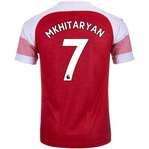 2018/19 PUMA Henrikh Mkhitaryan Arsenal Home Jersey