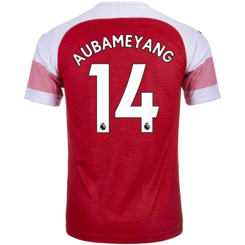 2018/19 Kids PUMA Pierre-Emerick Aubameyang Arsenal Home Jersey