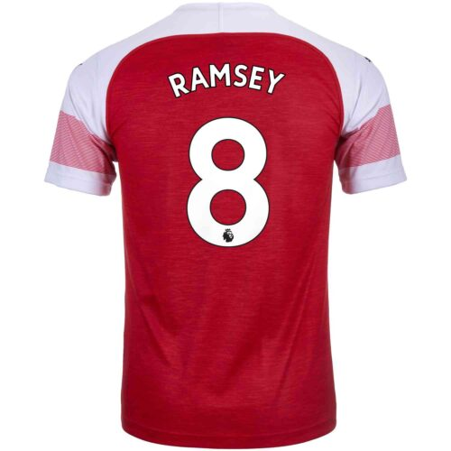 2018/19 Kids PUMA Aaron Ramsey Arsenal Home Jersey