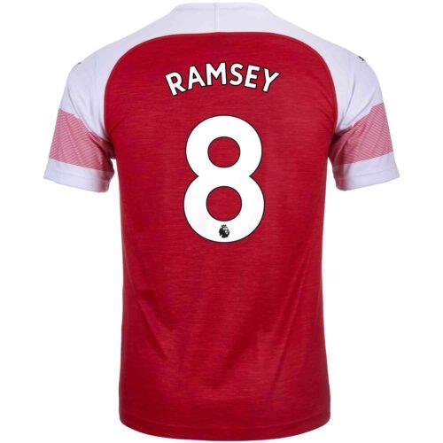 2018/19 Kids PUMA Aaron Ramsey Arsenal Home Jersey