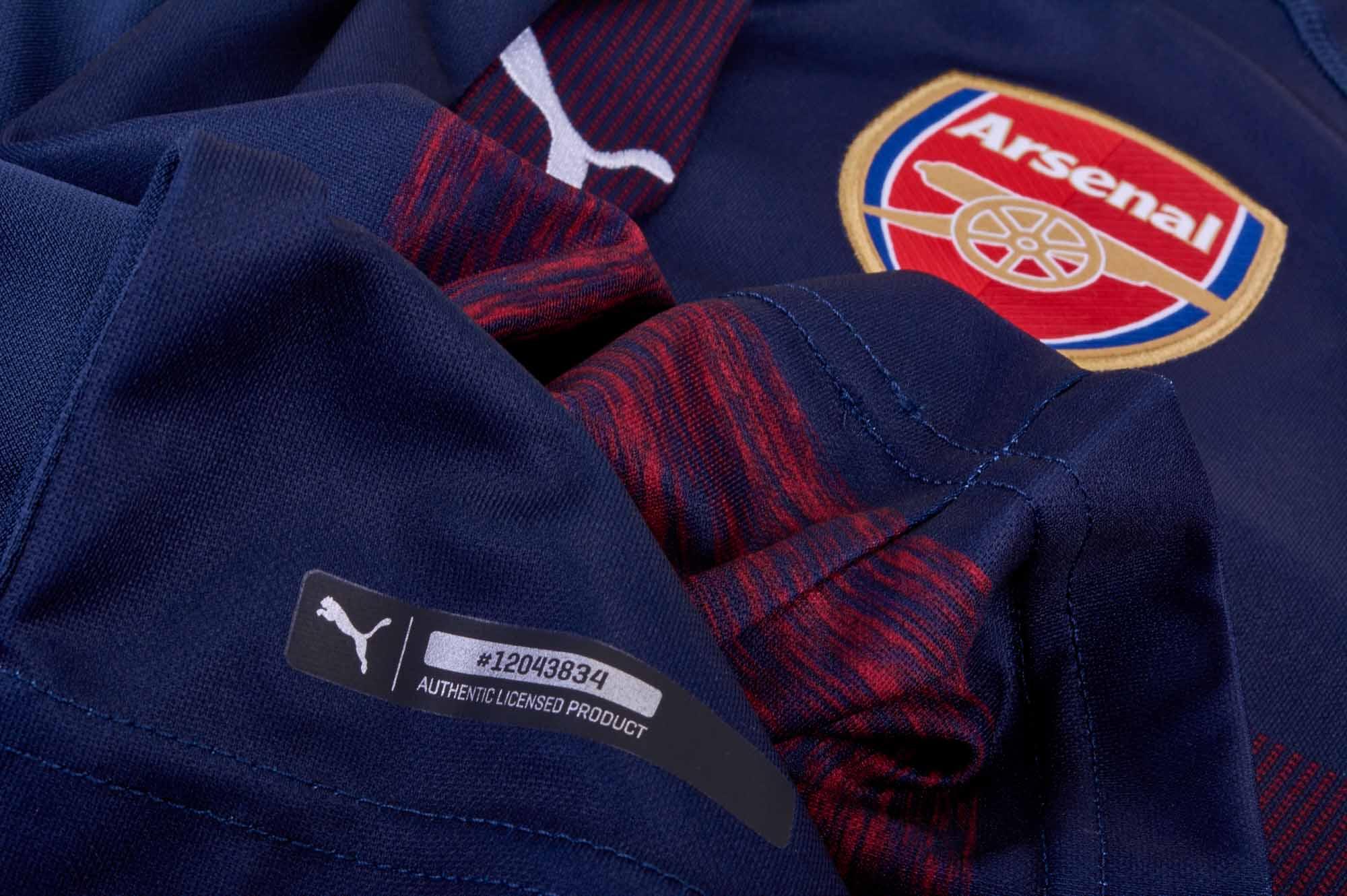 2018/19 PUMA Aaron Ramsey Arsenal Away Jersey - SoccerPro