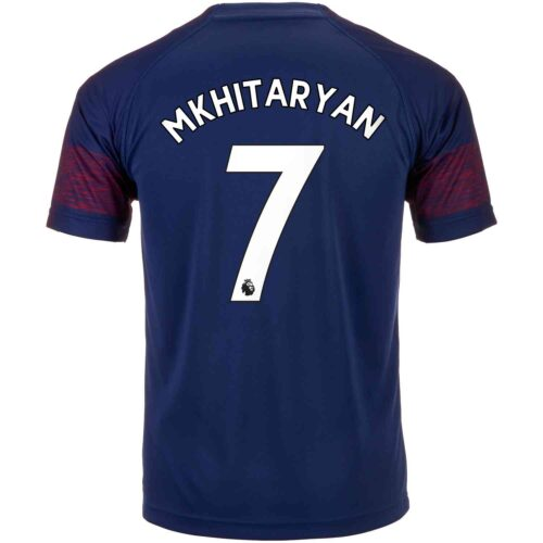 2018/19 PUMA Henrikh Mkhitaryan Arsenal Away Jersey