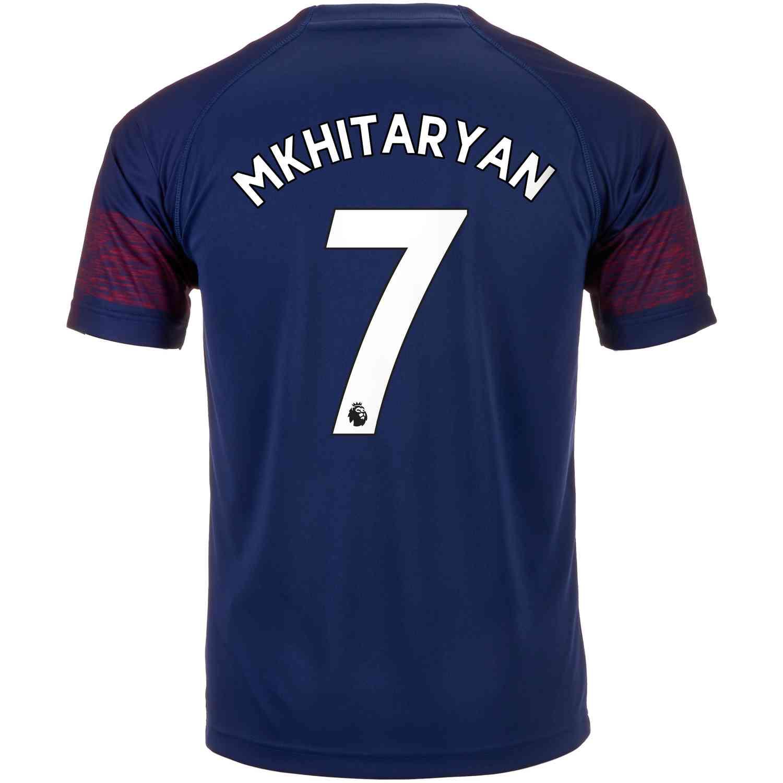 2018 19 PUMA Henrikh Mkhitaryan Arsenal Away Jersey - SoccerPro ce630a5f2