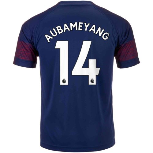 2018/19 Kids PUMA Pierre-Emerick Aubameyang Arsenal Away Jersey