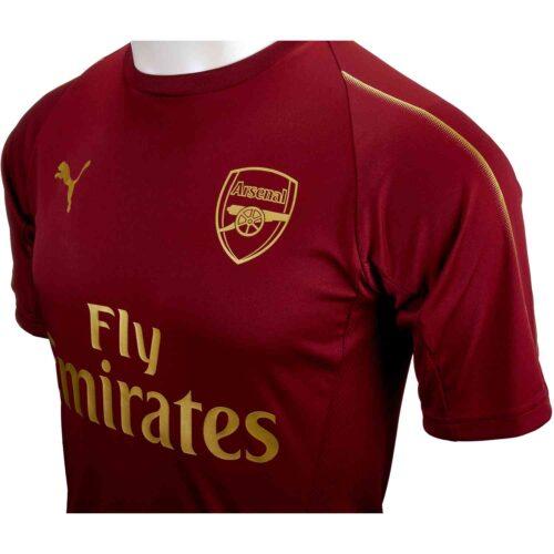 PUMA Arsenal Training Jersey – Pomegranate