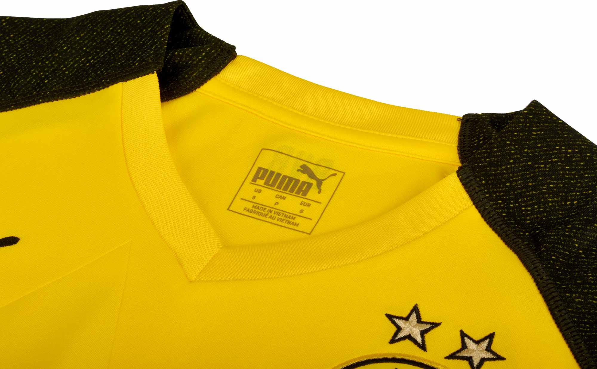 7bdd5f143cf 2018/19 PUMA Christian Pulisic Borussia Dortmund Home Jersey - SoccerPro