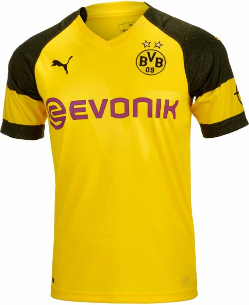 PUMA Borussia Dortmund Home Jersey – Youth 2018-19