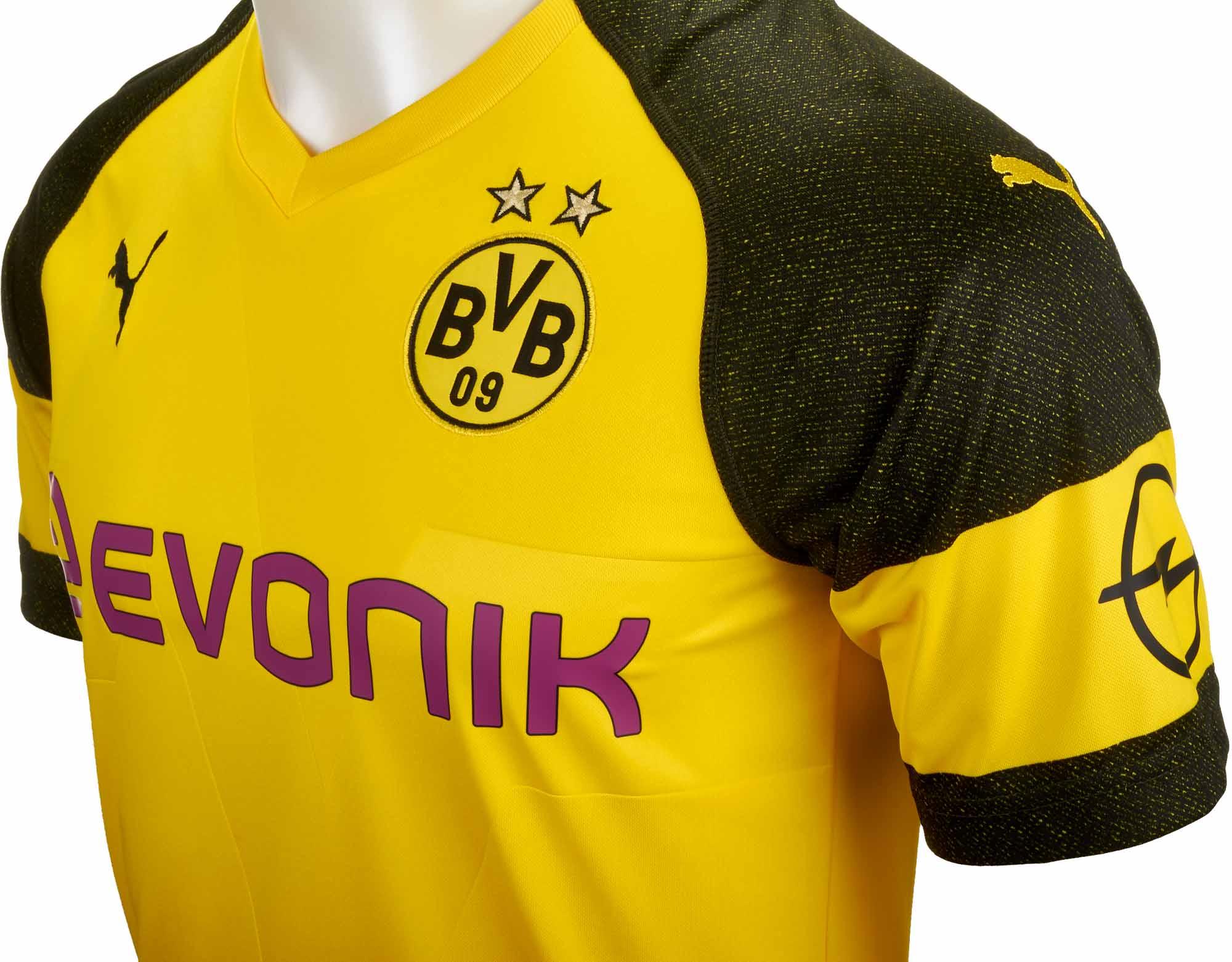 new concept 25c85 665e4 2018/19 Kids PUMA Christian Pulisic Borussia Dortmund Home ...