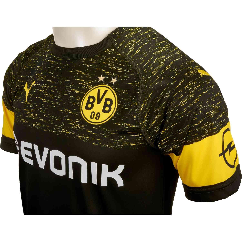 Puma Borussia Dortmund Away Jersey Black Soccerpro