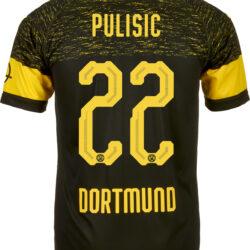 2018/19 PUMA Christian Pulisic Borussia Dortmund Away Jersey ...