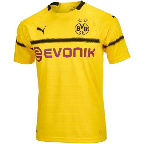 2018/19 Kids PUMA Borussia Dortmund Cup Jersey