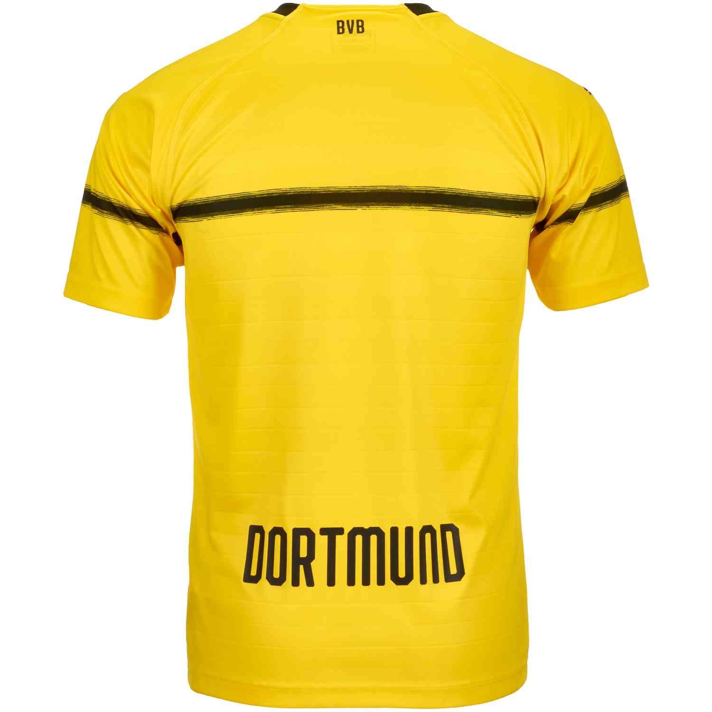 2018 19 Kids Puma Borussia Dortmund Cup Jersey Soccerpro