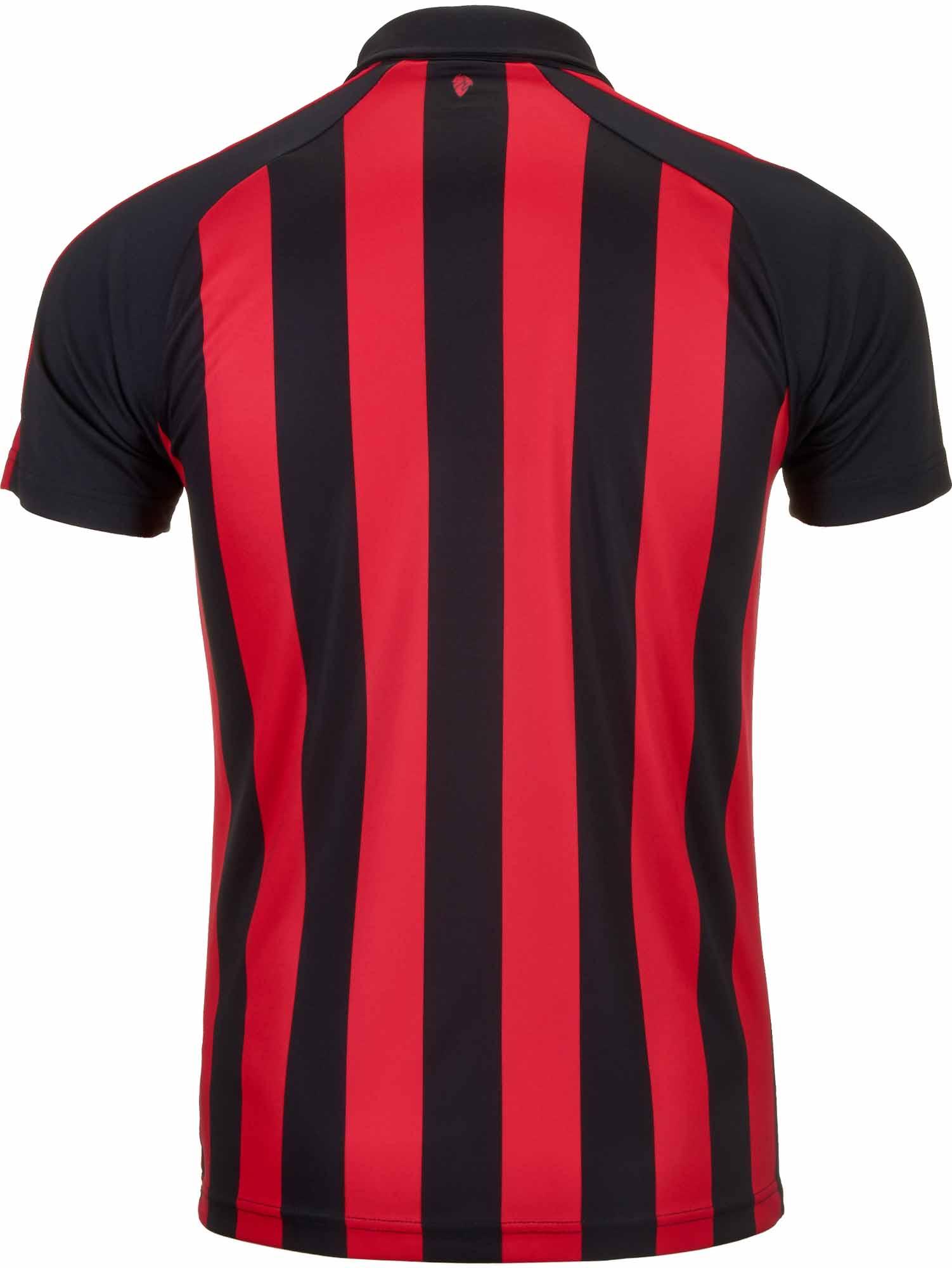 PUMA AC Milan Home Jersey Youth Chili PepperBlack SoccerPro