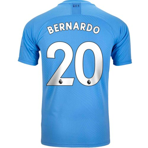 2019/20 PUMA Bernardo Silva Manchester City Home Authentic Jersey