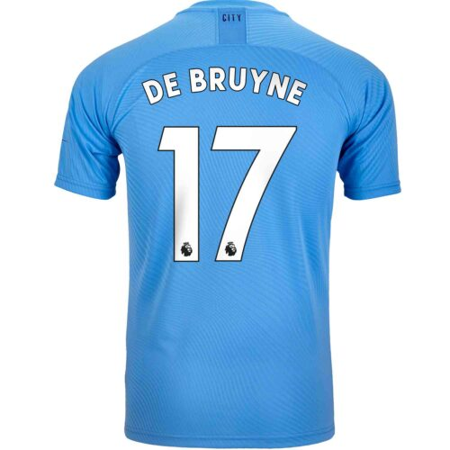 2019/20 PUMA Kevin De Bruyne Manchester City Home Authentic Jersey