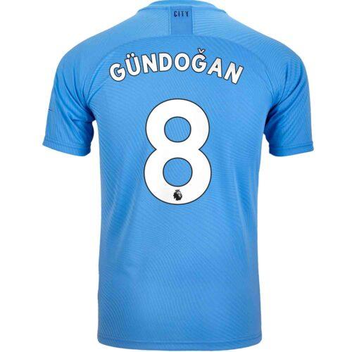 2019/20 PUMA Ilkay Gundogan Manchester City Home Authentic Jersey