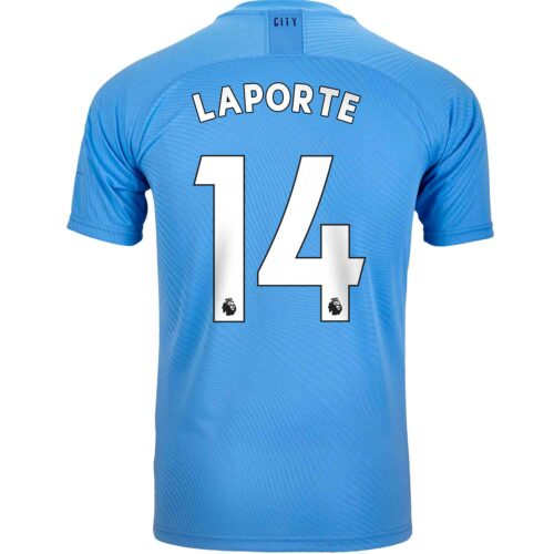 2019/20 PUMA Aymeric Laporte Manchester City Home Authentic Jersey