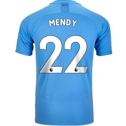 2019/20 PUMA Benjamin Mendy Manchester City Home Authentic Jersey