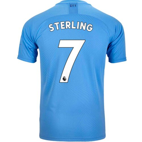 2019/20 PUMA Raheem Sterling Manchester City Home Authentic Jersey