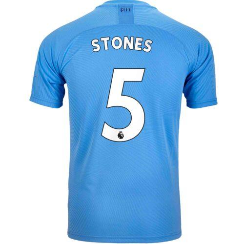 2019/20 PUMA John Stones Manchester City Home Authentic Jersey