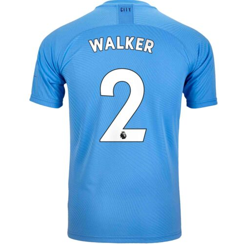 2019/20 PUMA Kyle Walker Manchester City Home Authentic Jersey