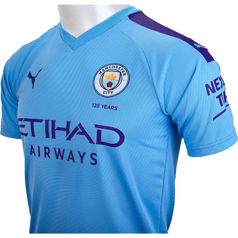 wholesale dealer cb8ad 7848b 2019/20 PUMA Manchester City Home Jersey - SoccerPro