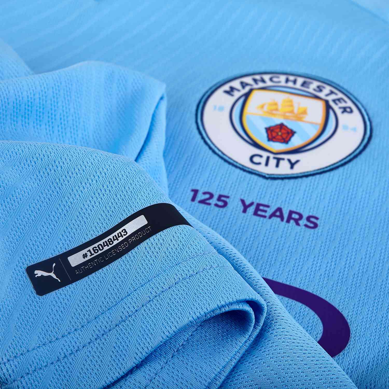 2019/20 PUMA Benjamin Mendy Manchester City Home Jersey - SoccerPro