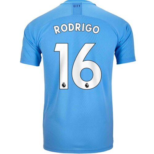 2019/20 PUMA Rodri Manchester City Home Jersey