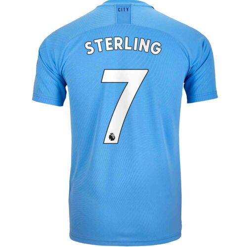 2019/20 PUMA Raheem Sterling Manchester City Home Jersey