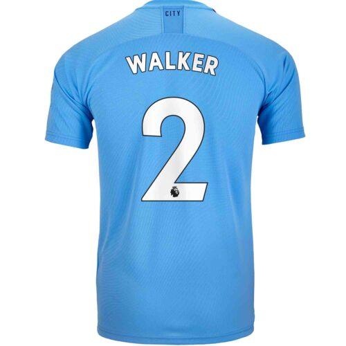 2019/20 PUMA Kyle Walker Manchester City Home Jersey