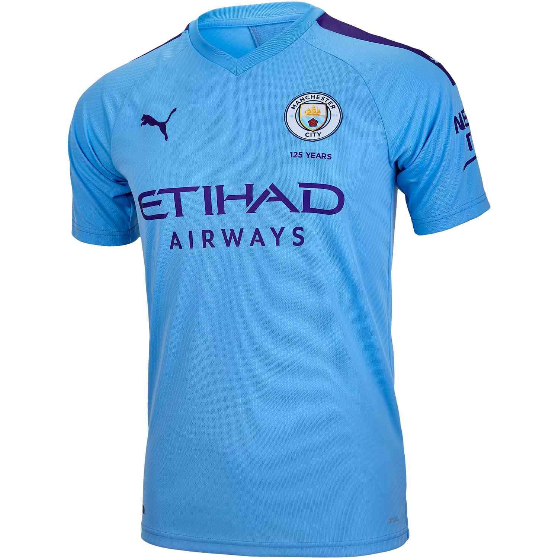online store 063b5 c8a2d Kids PUMA Manchester City Home Jersey – 2019/20
