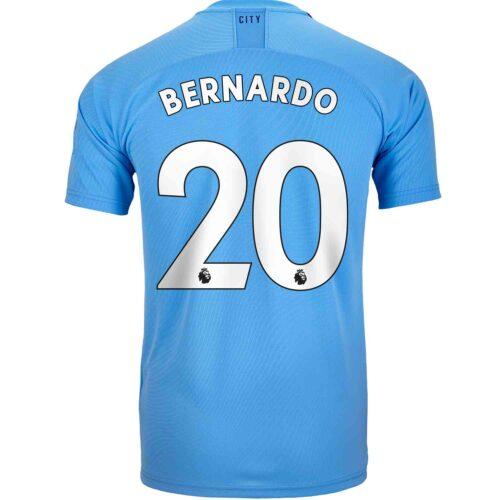 2019/20 Kids PUMA Bernardo Silva Manchester City Home Jersey