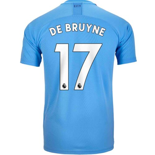 2019/20 Kids PUMA Kevin De Bruyne Manchester City Home Jersey