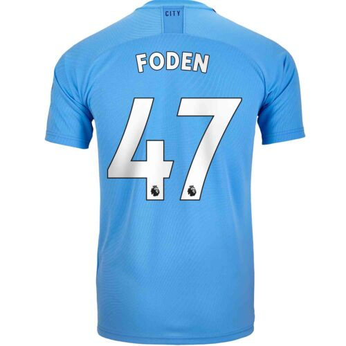2019/20 Kids PUMA Phil Foden Manchester City Home Jersey