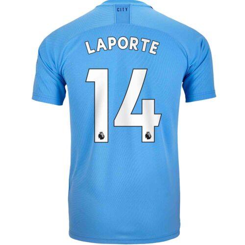 2019/20 Kids PUMA Aymeric Laporte Manchester City Home Jersey