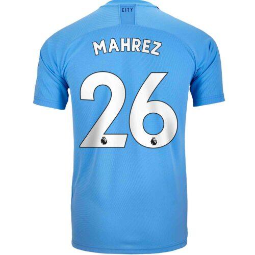 2019/20 Kids PUMA Riyad Mahrez Manchester City Home Jersey