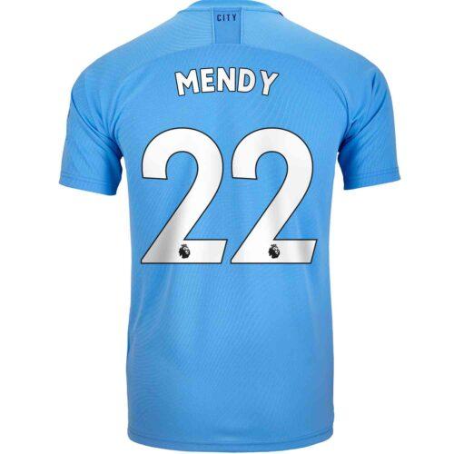 2019/20 Kids PUMA Benjamin Mendy Manchester City Home Jersey