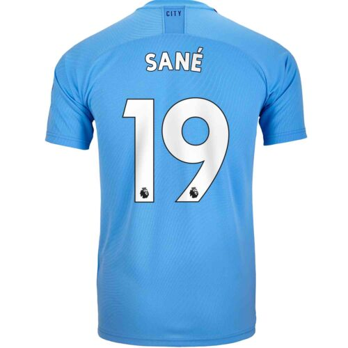 2019/20 Kids PUMA Leroy Sane Manchester City Home Jersey