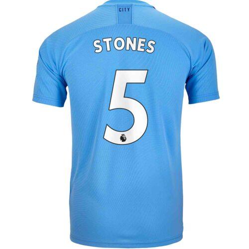 2019/20 Kids PUMA John Stones Manchester City Home Jersey