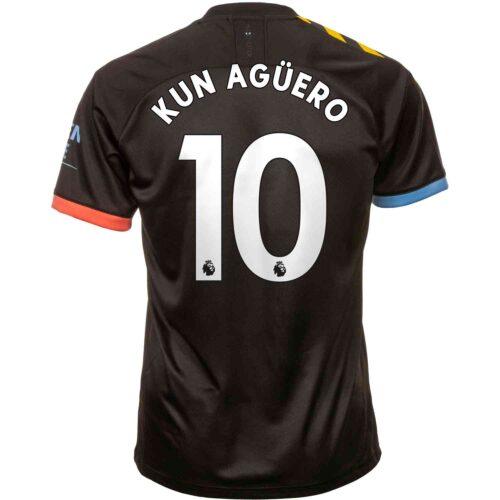 2019/20 PUMA Sergio Aguero Manchester City Away Jersey
