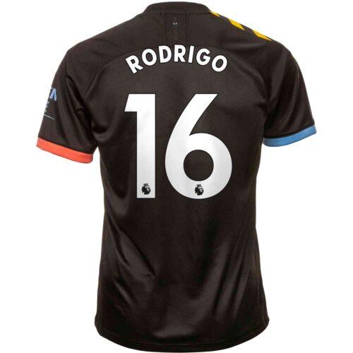 2019/20 PUMA Rodri Manchester City Away Jersey