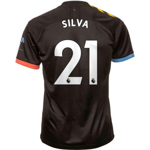 2019/20 PUMA David Silva Manchester City Away Jersey