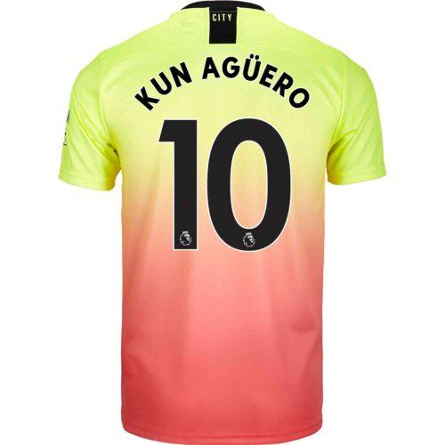 2019/20 PUMA Sergio Aguero Manchester City 3rd Jersey
