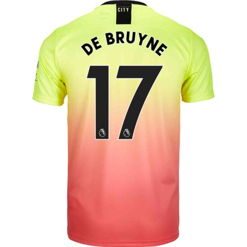 2019/20 PUMA Kevin De Bruyne Manchester City 3rd Jersey