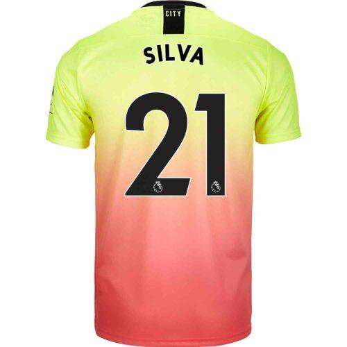 2019/20 PUMA David Silva Manchester City 3rd Jersey