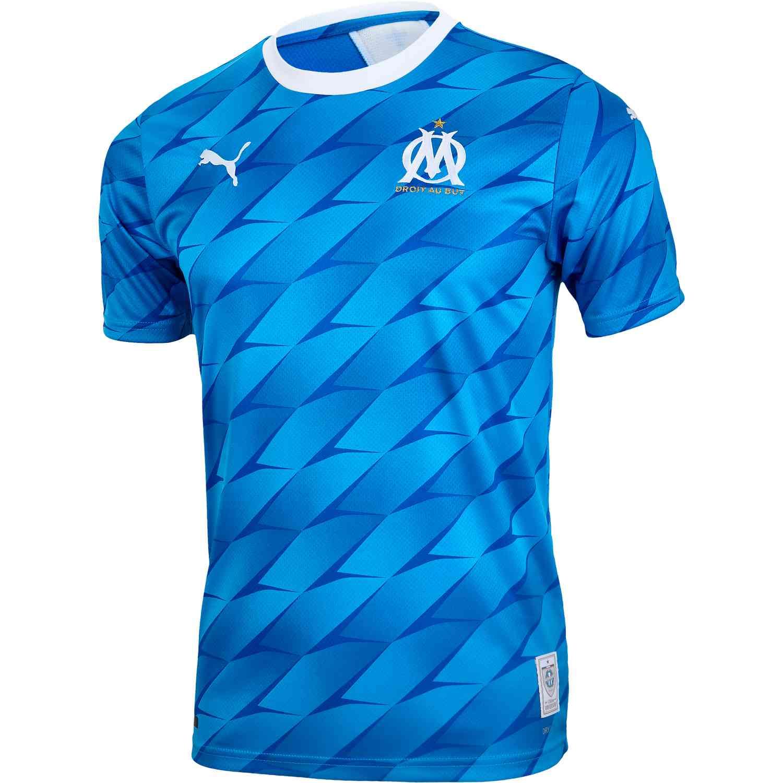 2019/20 PUMA Marseille Away Jersey - SoccerPro