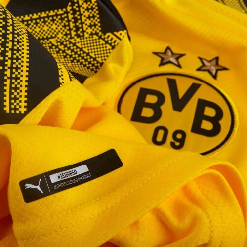 2019/20 PUMA Giovanni Reyna Borussia Dortmund Home Jersey